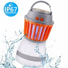 Bug Free Camping Lights Usb Rechargeable Camping Lamp Mosquito Killer Portable