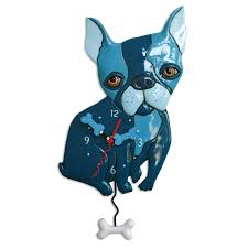 Discover Card Designs Frenchie Amazon Com Allen Designs Whimsical Frenchie Pendulum Wall