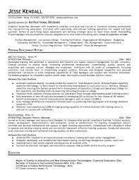 Instructional Design Resume Updated Instructional Design Resume