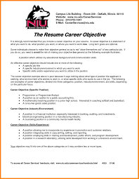 8 Resume Job Objective Appeal Leter