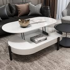 lift top storage coffee table and side