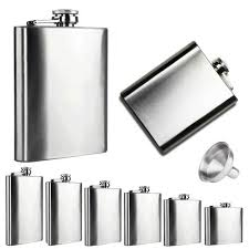 Online Shop <b>2016 Hot Sale</b> Flask Trustworthy 1pc 10 8 7 6 5 4 2oz ...