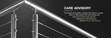 stainless steel care advisory
