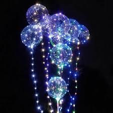 String Light Balloon Pin On Outdoor