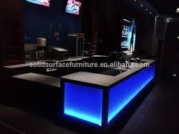 Fancy Led Illuminated Furniture Custom Service Available