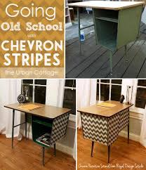 chevron painted furniture. Chevron Stripe Stencil Furniture Painting Project | Royal Design Studio Stencils Painted