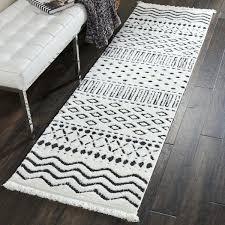 black and white runner rug white black fringe runner rug black and white runner rug uk black and white runner rug