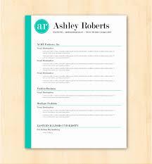 Modern Cover Letter Resume Templates Cv Template Design Cover