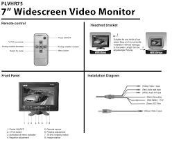 mobile display to pal video wiring diagram motorcycle schematic mobile display to pal video wiring diagram plvhr75 diagram mobile display to pal video