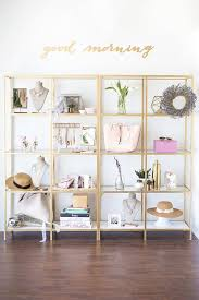 office shelves ikea. touring the luxurious lavender office and showroom of kim le pham gold shelvescloset shelvesikea shelves ikea