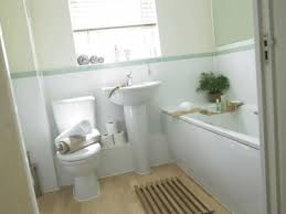 Plain Simple Small Bathroom Decorating Ideas Horizontal Lines On Paintings Modern Wall Stickers And Innovation Design