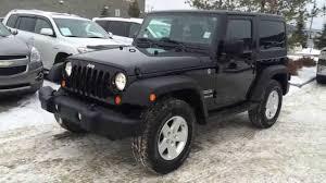 Pre Owned Black 2011 Jeep Wrangler 4WD 2dr Sport Review - Devon ...