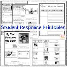 Nonfiction Text Features Anchor Chart Printable Nonfiction Text Features Anchor Chart Posters Worksheets