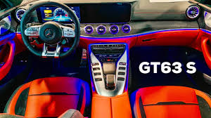 Amg gt 63 s 4matic+. 2019 Mercedes Amg Gt 4 Door 63 S Full Review Interior Red Pepper Exclusive Nappa Leather Youtube