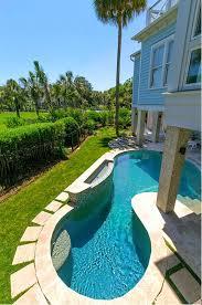 Beautiful Backyard Pools Model Simple Design