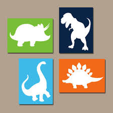 5 out of 5 stars with 2 ratings. Dinosaur Wall Art Canvas Or Prints Boy From Trm Design Wall Art