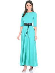 Купить женские длинные зеленые платья в интернет магазине ...