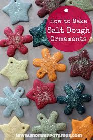 Salt Dough Christmas Star Ornaments Made These When I Was A Kids Salt Dough Christmas Gifts