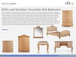 Charming Willis And Gambier Charlotte Oak Bedroom ...