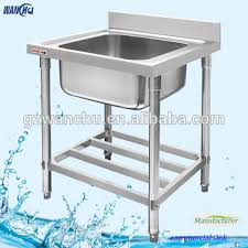 small stainless sink. Simple Sink Single Sink Small Stainless Steel Kitchen Stand To T