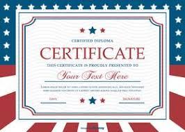 Sample Certificate Templates Certificate Template Free Vector Art 27675 Free Downloads