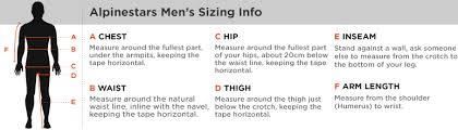 Correct Sizing For Motorcycle Clothing Charts From Honda