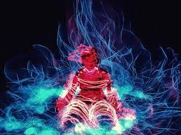 enter an electric vortex of smartphone captured light paintings creators