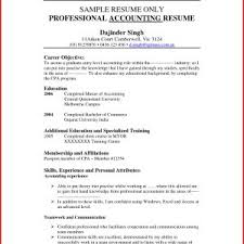 Resume Objective For Accounts Payable Valid Resume Objectives For