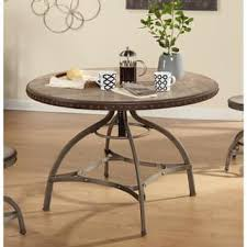 metal kitchen table. Simple Living Decker Nailhead Trim Adjustable Height Swivel Dining Table - N/A Metal Kitchen