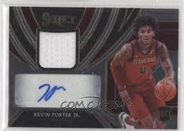 2019 20 Panini Select Rookie Jersey Autographs Rja Kpj Kevin Porter Jr 199