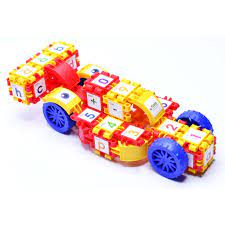 Bộ đồ chơi XẾP HÌNH SUPER CAR 65 chi tiết (Sato 30-31-32-76)