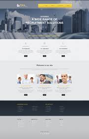 Website Template 51717 Recruitment Agencies Directory Custom