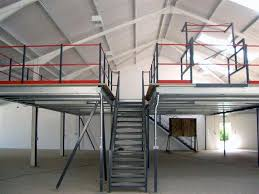office mezzanine floor. Storage Mezzanine Floor Showing Staircase And Pallet Gate Office T