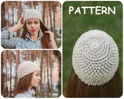 Crochet Chemo Hat Pattern New Crochet Hat Written Pattern Cancer Beanie Crochet Pattern Etsy