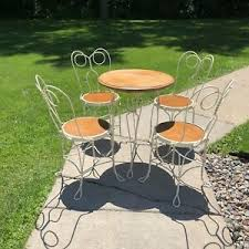 wrought iron antique dining sets 1900