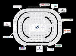 Amalie Seating Chart With Rows Amalie Stadium Seating Amalie Arena Restricts Away Jerseys