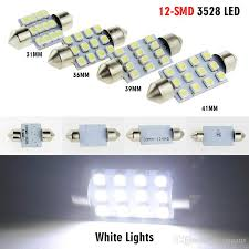 31mm 36mm 39mm 41mm <b>LED</b> 12X3528 SMD White Lights Dome ...