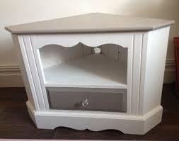 Vintage Corner Cabinet Shabby Chic Pine Corner Unit Painted In Annie Sloan Paris Grey