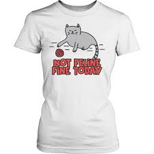 Cat Shirt Design Amazon Com Ruhui Feline It Today Cat Shirt Design District