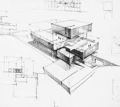 modern architectural sketches. Architecture Modern Architectural Sketches