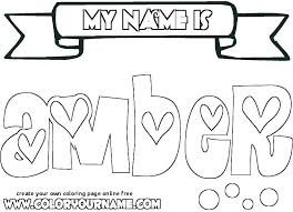 Create Your Own Coloring Pages With Your Name Lovely 24 Create Your