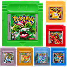 Pokemon Game Boy Color Coloring Pages