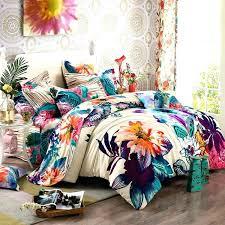 bohemian bed bedroom