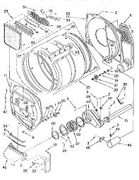 kenmore model 11076901692 residential dryer genuine parts kenmore gas dryer wiring diagram Kenmore Gas Dryer Wiring Diagram #28