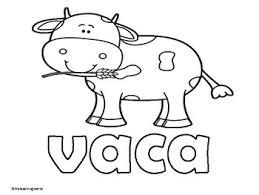 Spanish Farm Animals Coloring Pages By The Teaching World Tpt