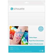 Tattoo Release Form Beauteous Amazon Silhouette MEDIATATTOO Temporary Tattoo Paper Arts