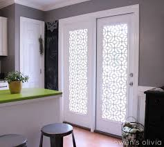 modern door window covering idea d i y roman shade no sewing required thi would be perfect for a little sparkle my 4 treatment french curtain blind insert