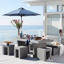 outdoor furniture decor. Outdoor Decor Trend Concrete Furniture Pieces E