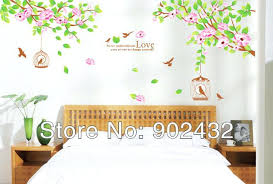 wall art stickers online uk buy flowers and bird cage home decor