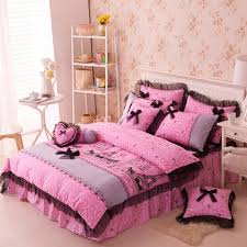 paris themed bedding set queen and twin size
